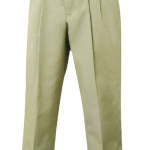 Pleated Pants-Khaki, Girls
