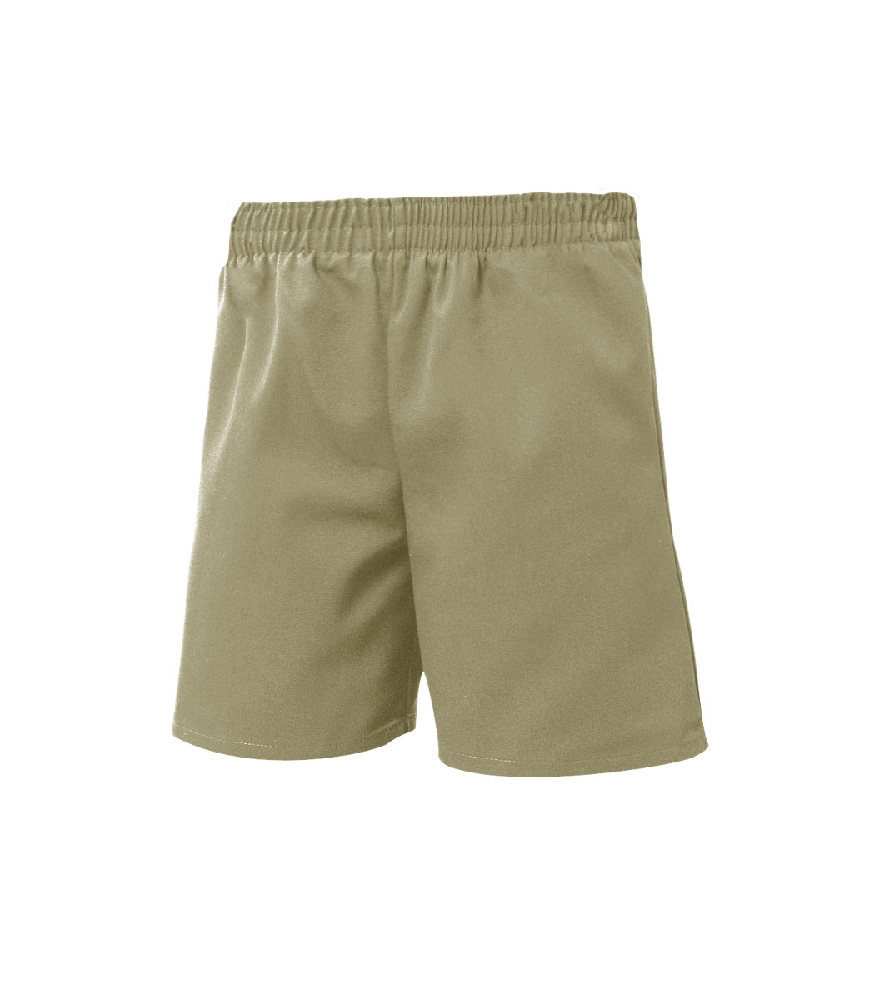 Pull-Up Shorts Khaki – Size Youth XXS – XL