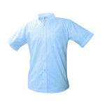 Oxford-Blue, Short Sleeve-Regular