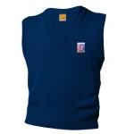 V-Neck Pullover Vest_navy