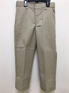 Flat Front Pants Khaki – Size 33-48 Mens